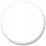 Plain White 58mm Fridge Magnet